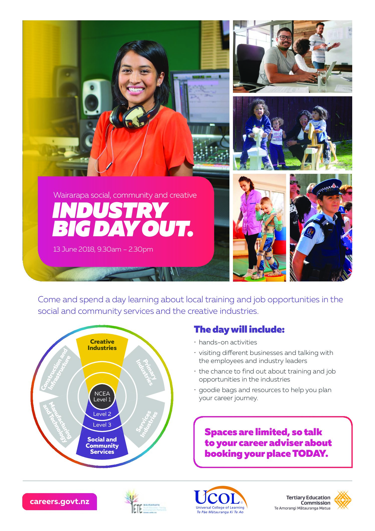 Social, Community & Creative Industry Big Day Out 2018
