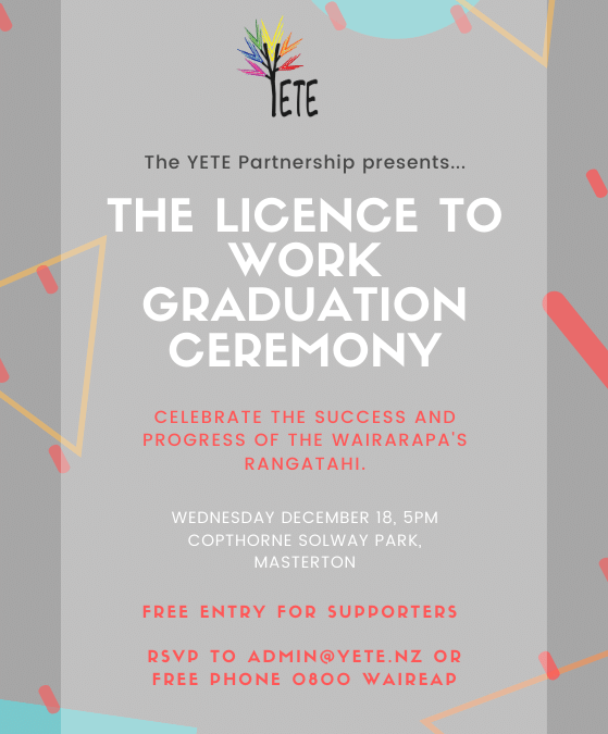 2019 Licence to Work Graduation
